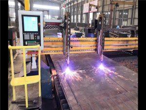 Давхар хөтөч Gantry CNC плазмын хэрчих машин H цацраг үйлдвэрлэх шугам гипертерм CNC систем
