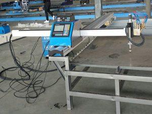 Зөөврийн cnc плазмын хэрчих машин эдийн засгийн үнэ Металл хайчлах машин
